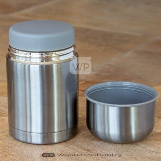 Food and Beverage Flask Platinum Twin Wall